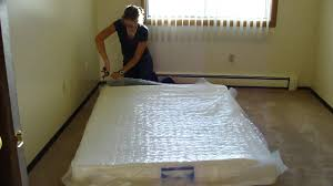 Full Size Mattress Cover Walmart Mattress Expands In Seconds Full Size Bed Instantly Youtube