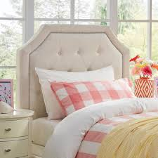 White Twin Headboards by Sauder Shoal Creek Soft White Twin Headboard 411905 The Home Depot