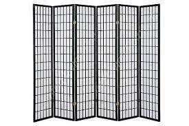 Panel Room Divider 6 Panel Shoji Room Divider Comfort Living Furniture Home