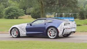 newest corvette zr1 2018 corvette zr1 spied in near production form with camo