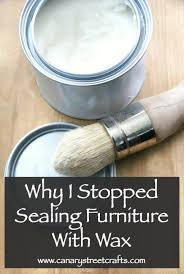 should i put a top coat on painted cabinets why i rarely use wax to seal furniture canary crafts