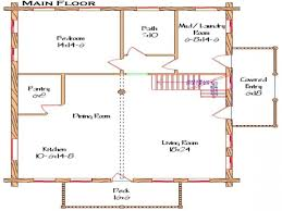square open floor plans with loft simple rectangle house floor