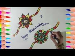 rakhi coloring pages how to draw fancy rakhi u0026 coloring coloring page for kids