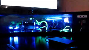 Custom Desk Computer Best Custom Computer Desk Gaming Setup Liquid Cooled