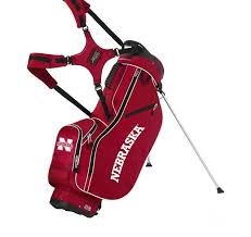 South Dakota travel golf bag images Sun mountain university of nebraska collegiate stand bag jpg