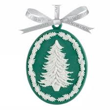 heirloom christmas ornaments wedgwood and waterford in the sales