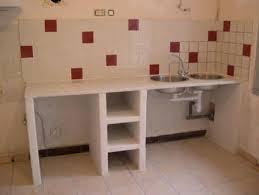 cuisine en siporex ou ciment cellullaire cucina in muratura