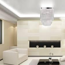 contemporary ceiling light square glass handmade ambient 2
