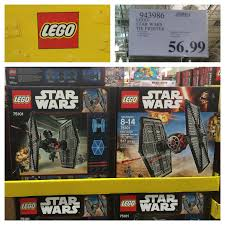 the costco connoisseur star wars at costco costco also carries a super 3 in 1 pack of star wars lego microfighters choose from two different sets at 20 off the retail price