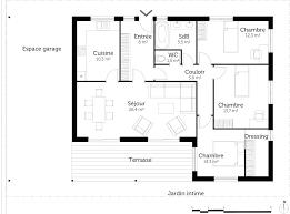 plan maison 4 chambres plain pied gratuit plan maison plain pied 3 chambres 120m2 1 psicologiaclinica info