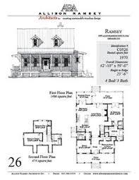 Allison Ramsey House Plans Allison Ramsey Architects Floorplan For Summer Haven 1543