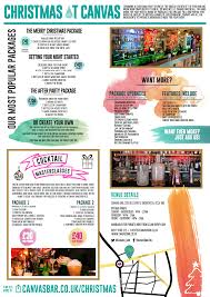 cocktail drinks menu canvas bar old street london bar reviews designmynight