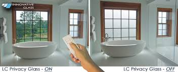 innovative glass corporation project privacy glass bathroom