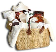 spa baskets gift baskets orange county irvine ca christmas custom