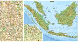 Map Of Jakarta Indonesia Travel Map Fifth Edition Periplus Travel Maps