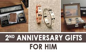anniversary gifts for him unique and thoughtful 2nd anniversary gifts for him the men
