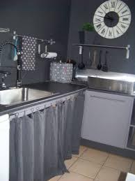 rideau cuisine gris meuble oreiller matelas memoire de forme