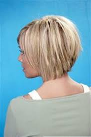 back view of medium styles stacked bob medium length bob hairstyles back view pictures ladies