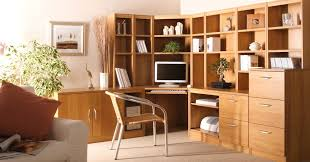 Small Home Office Furniture Sets Wood Home Office Furniture Corner Desk With Hutch Designs Tips