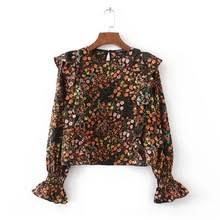 blouse wanita ruffle blouse pola beli murah ruffle blouse pola lots from china