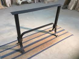 X Table Base Ohiowoodlands Console Table Base Steel Sofa Table Legs Accent