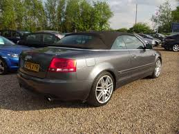 audi a4 convertible s line for sale used audi a4 2007 automatic petrol 3 2 fsi s line grey for sale uk