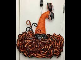 diy dollar tree witch hat form decorating ideas replay
