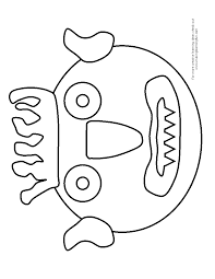 go away big green monster coloring page funycoloring