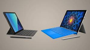 android tablet comparison samsung galaxy tab s3 vs microsoft surface pro 4