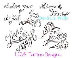 angel wing tattoo designs small love tattoo designs by denise a wells a variety of small u2026 flickr