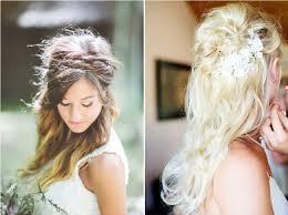 coiffure mariage cheveux coiffure de mariée 10 idées avec les cheveux lâchés