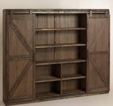 Bookcase With Doors Plans by Plum Prettyfarmhouse Style Office Plans U2014