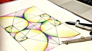 golden ratio dna spiral how to draw golden ratio spirals tutorial on sacred geometry