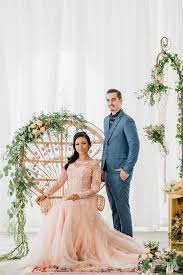 Celebrity Brides Who Wore Unconventional by Bohemian Pre Wedding Inspiration With Celebrity Bride Nadiah M
