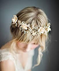 boho hair wrap boho gold halo hair wrap gold hair wreath wedding gold forehead