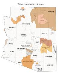 Arizona State Parks Map by Maps Itca