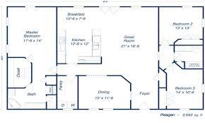 metal building floor plans with living quarters designideias com