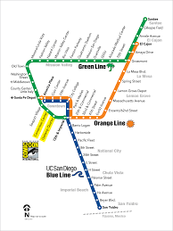 Trolley San Francisco Map by Map Of San Diego Trolley You Can See A Map Of Many Places On The