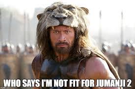 Jumanji Meme - the rock is ready meme imgflip