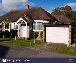 detached house double garage stock photos u0026 detached house double