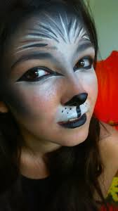 pics of wolf makeup now after i was finished with the makeup i