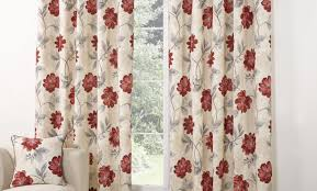 black and red curtains made eyelet curtains uk poppy ready made