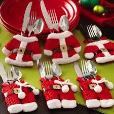 aliexpress com buy 3set lot santa flatware bag clothes
