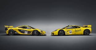 mclaren p1 side view 2016 mclaren p1 gtr race car side photo harrods yellow and