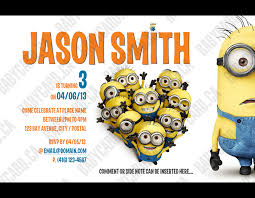 card invitation design ideas despicable me birthday card funny