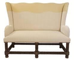 Lee Industries Swivel Chair Edward Ferrell Lewis Mittman Vineyard Settee Furniture Settees