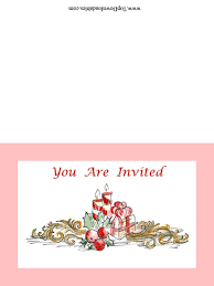 free elegant invitation for christmas party u0026 other printables