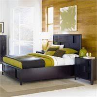 Magnussen Nova Platform Bed  Piece Bedroom Set In Chestnut - Magnussen nova platform bedroom set