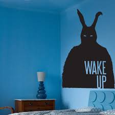 love it or hate it donnie darko rabbit decal donnie darko frank donnie darko rabbit wall sticker the wake up reminds me of teen wolf