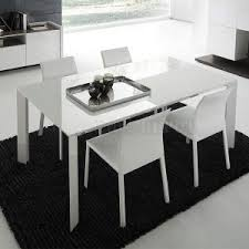 white modern dining table set dining room modern dining tables stylish dining room design glass